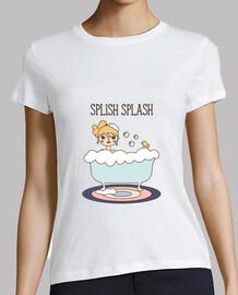 splish splash t-shirt donna