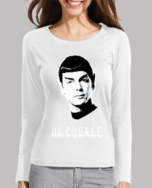 spock externe  femme  de l'espace