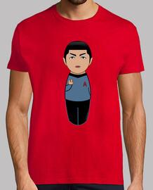 Spock Kokeshi Star Trek