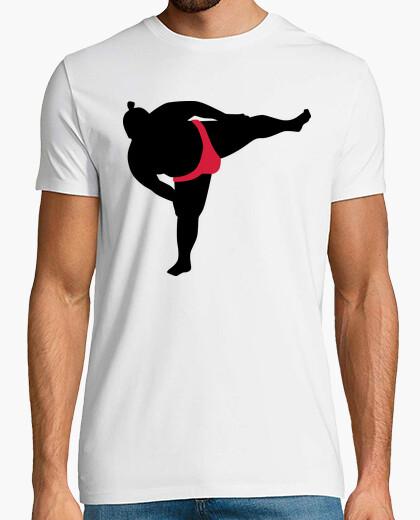 T-shirt sport sumo wrestling