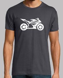 Sportbike Tribal white