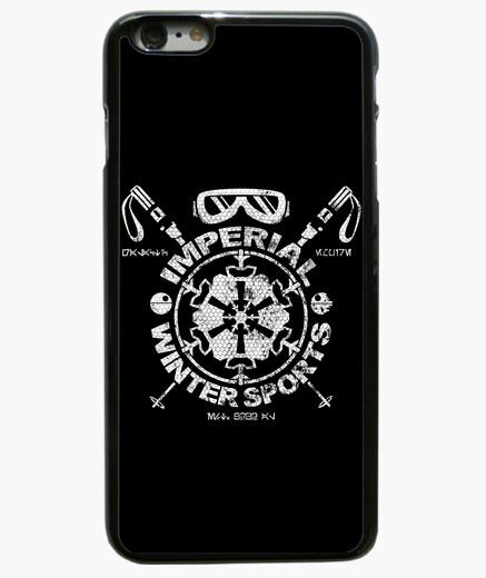 Coque Iphone 6 Plus / 6S Plus sports d'hiver impérial - Blanc