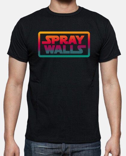 spray wall logo uomo