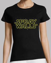 Spray Walls Galaxia Mujer