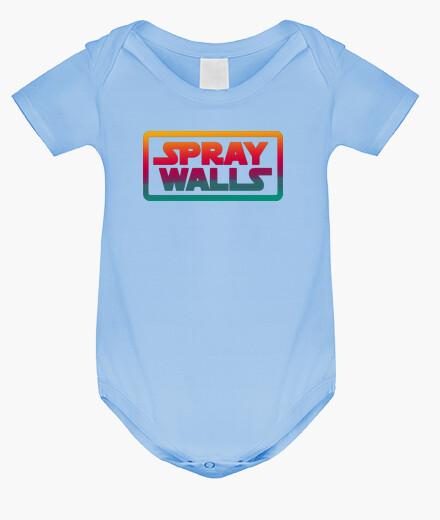 Ropa infantil Spray Walls Logo
