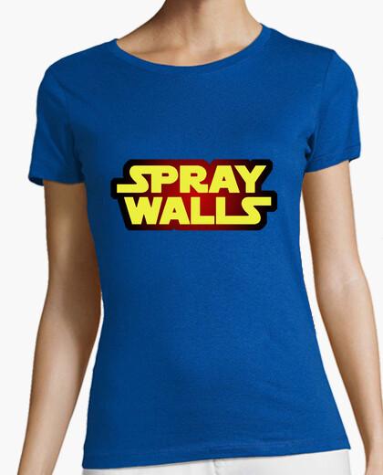 Camiseta Spray Walls Logo2