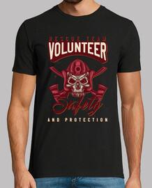 squadra di salvataggio volu t-shirt r