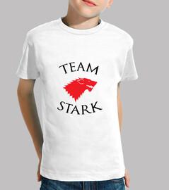 squadra tshirt stark - game of thrones