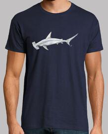 squalo martello t-shirt da uomo