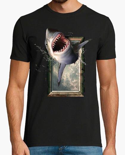 T-shirt squalo salto squali squalo one s