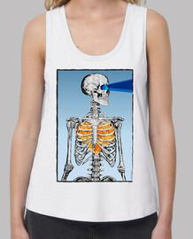 squelette - crâne - coeur - feu
