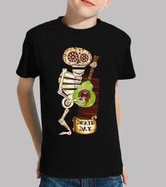 Squelette et guitare Calaca Catrina Kat