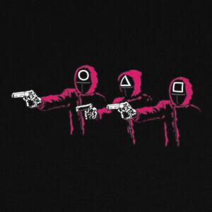 squid fiction T-shirts