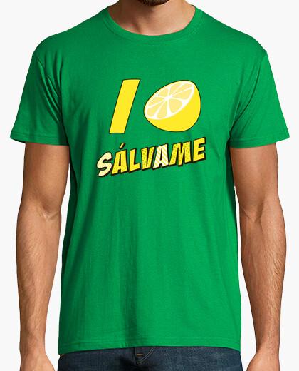 Camiseta Sssálvame limón