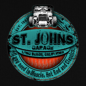 Camisetas St Johns Blue