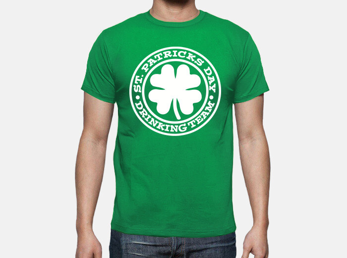 cda5a511 St. Patrick's day drinking team T-shirt - 1721731 | Tostadora.co.uk