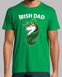St Patricks Day Unicorn Irish Dad