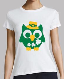 st. patricks owl jour shamrock