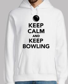 stai calmo e continua a giocare a bowli