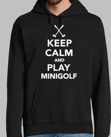 stai calmo e gioca a minigolf