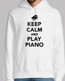 stai calmo e suona il piano