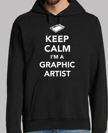 stai calmo sono un artista grafico