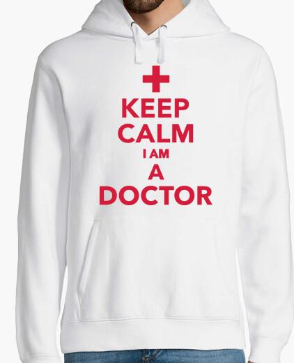 Felpa stai calmo sono un dottore