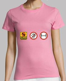 standard t-shirt woman coronavirus gestures that save