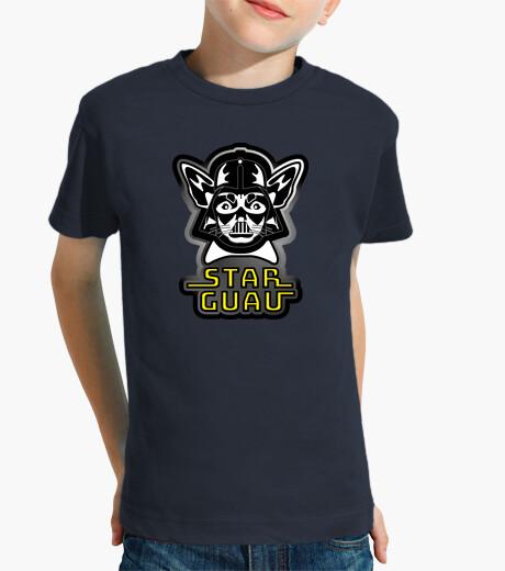Ropa infantil star guau galaxias Niño, manga corta, azul marino star guau