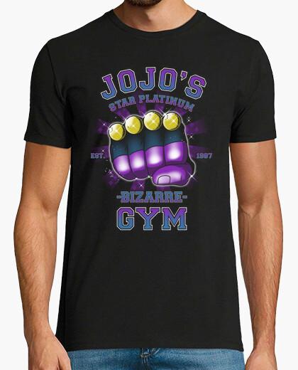 Star platinum gym t-shirt