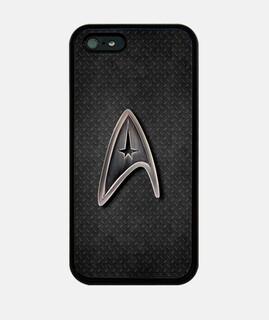 Star Trek logo metálico