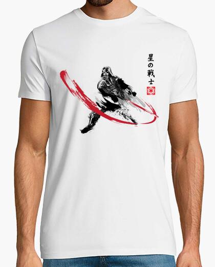 Star warrior sumi-e t-shirt