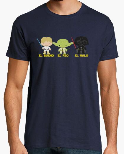 Camiseta Star Wars - El bueno, el feo y el malo