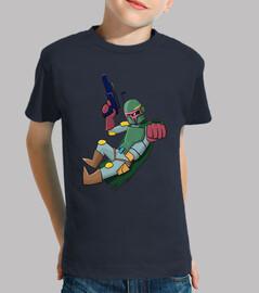 Star Wars: Boba Fett camiseta niño