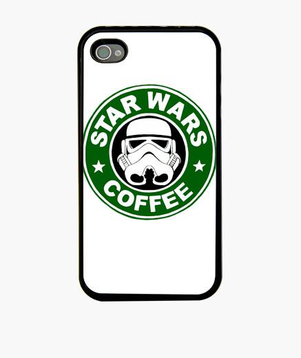 Star Wars Coffee Fundas IPhone