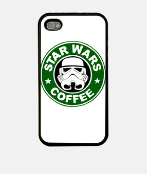 Star Wars Coffee Fundas IPhone