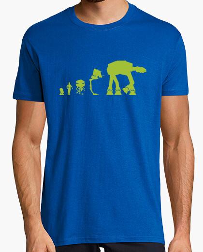 Camiseta Star Wars Evolución