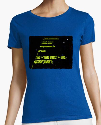 Camiseta Star Wars: Hello Galaxy C++