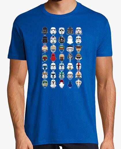 T-shirt Star wars helmet dark background
