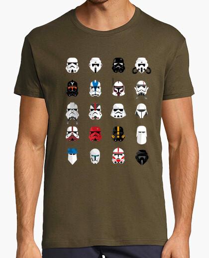 Camiseta Star Wars Helmets