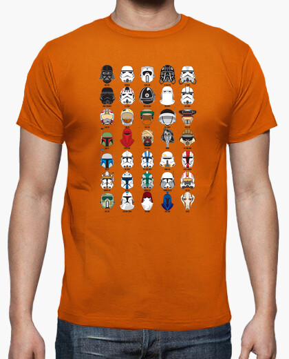 Camiseta Helmets Star Wars