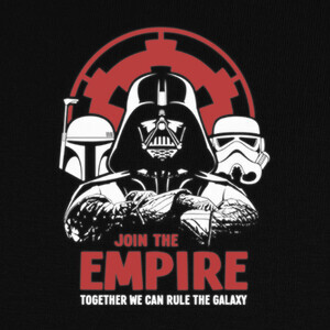 Camisetas Star Wars: Join the Empire