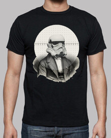 Star Wars Retro cine TV  stormtrooper Camisetas frikis