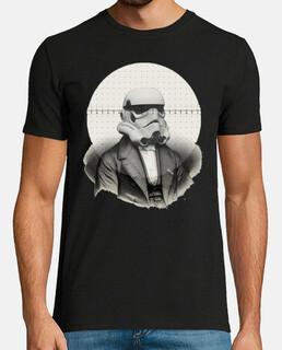 Star Wars Retro cine TV  stormtrooper Camisetas frikis