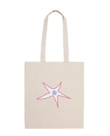 starfish and scallop gray