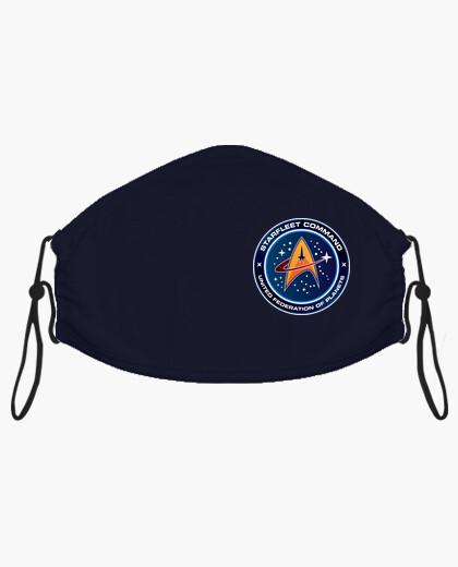 Mascarilla Starfleet Command - Star Trek