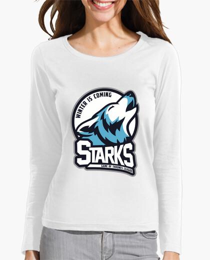 Camiseta STARKS - Game Of Thrones League ( Equipo