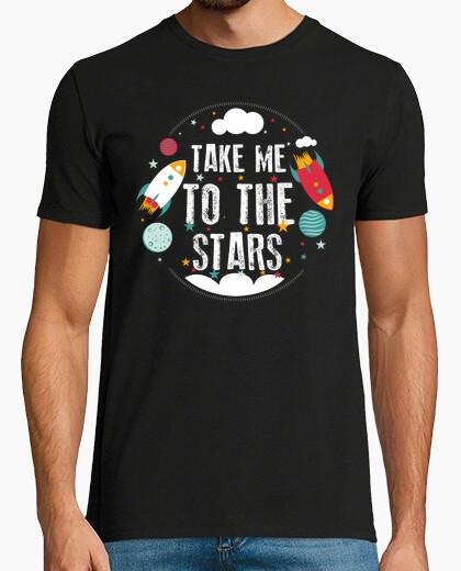 T-shirt stars pianeti