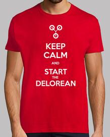 Start the Delorean