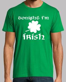 stasera sono un trifoglio irlandese